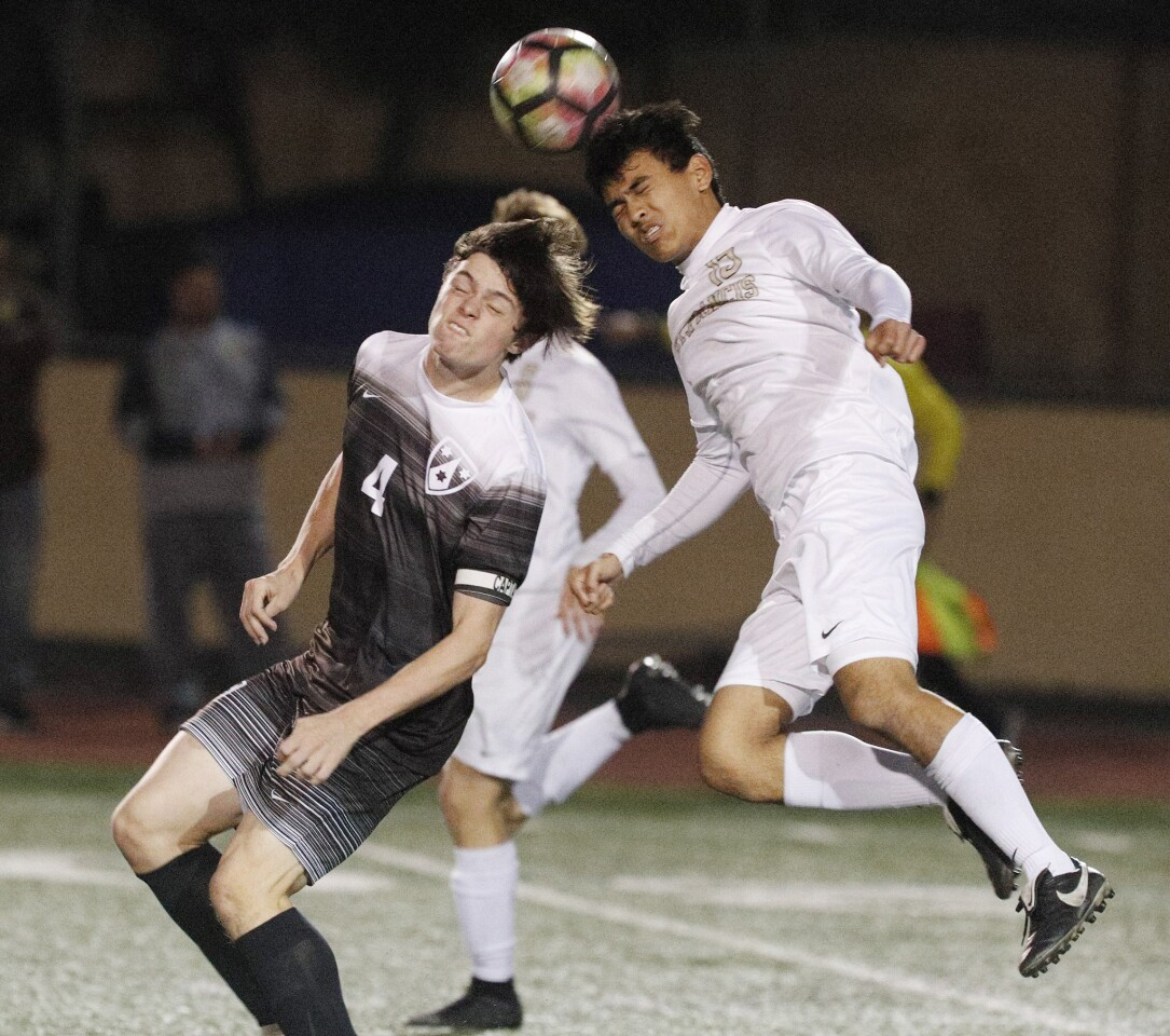 Photo Gallery: St. Francis vs. Crespi in boys soccer