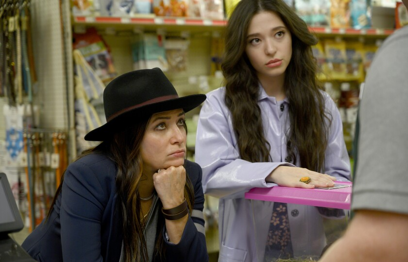 """Pamela Adlon, left, and Mikey Madison in """"Better Things"""" on FX."""