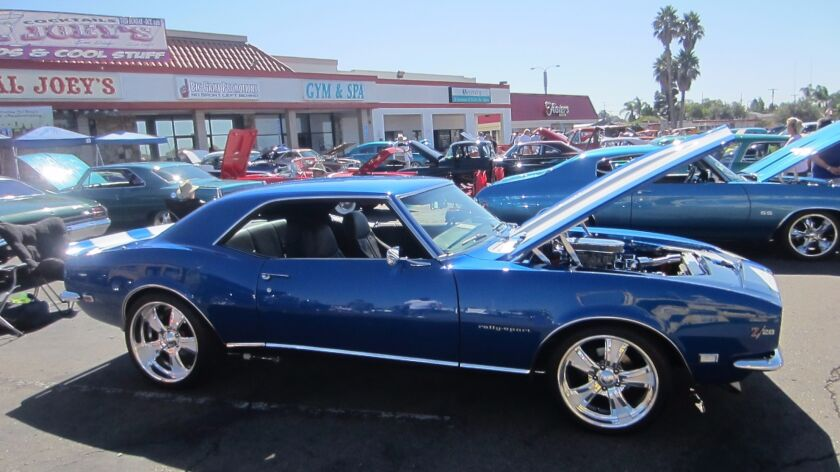 Best Damn Car Show in Town Oct. 16, at Pal Joey's in the Allied Gardens area,