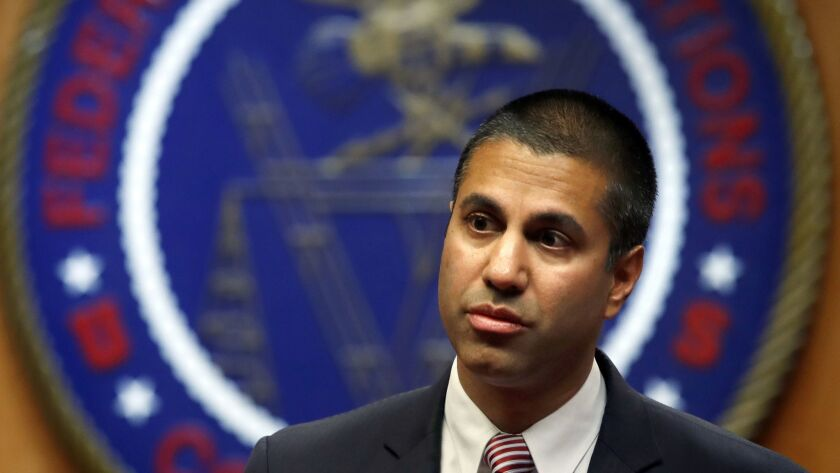 The inquiry's conclusion could help insulate FCC Chairman Ajit Pai from his critics in Congress, who last year called for the investigation after highlighting what they said was a suspicious pattern of FCC behavior.