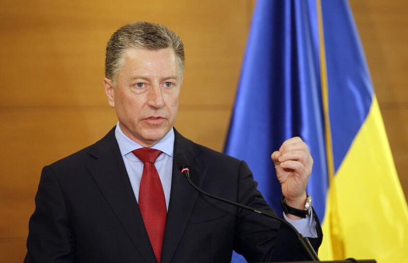 Kurt Volker, a former U.S. ambassador to NATO, was brought into the Trump administration by former Secretary of State Rex Tillerson to serve as an envoy to Ukraine.