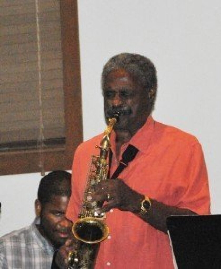Charles McPherson plays at the event.