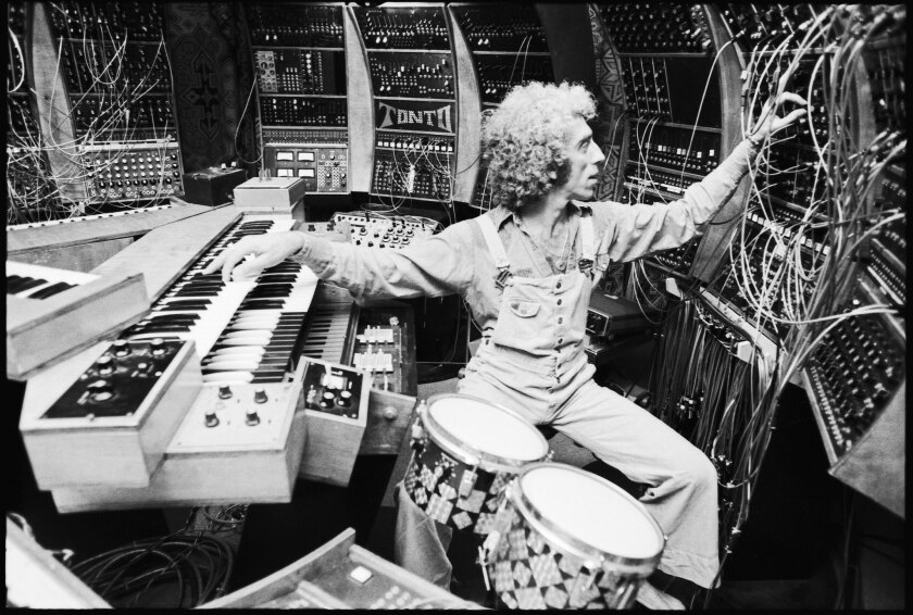 """Engineer Malcolm Cecil plays on Tonto, which Stevie Wonder harnessed for his classic albums. The technology is highlighted in """"Soundbreaking,"""" a new documentary about recorded music."""