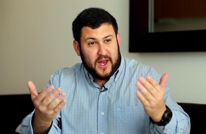 """En una entrevista con Efe, Smolansky subrayó que esos serían """"los tres tableros"""" para la salida del poder del presidente venezolano, Nicolás Maduro, y para """"que se recupere la libertad"""". EFE/Archivo"""