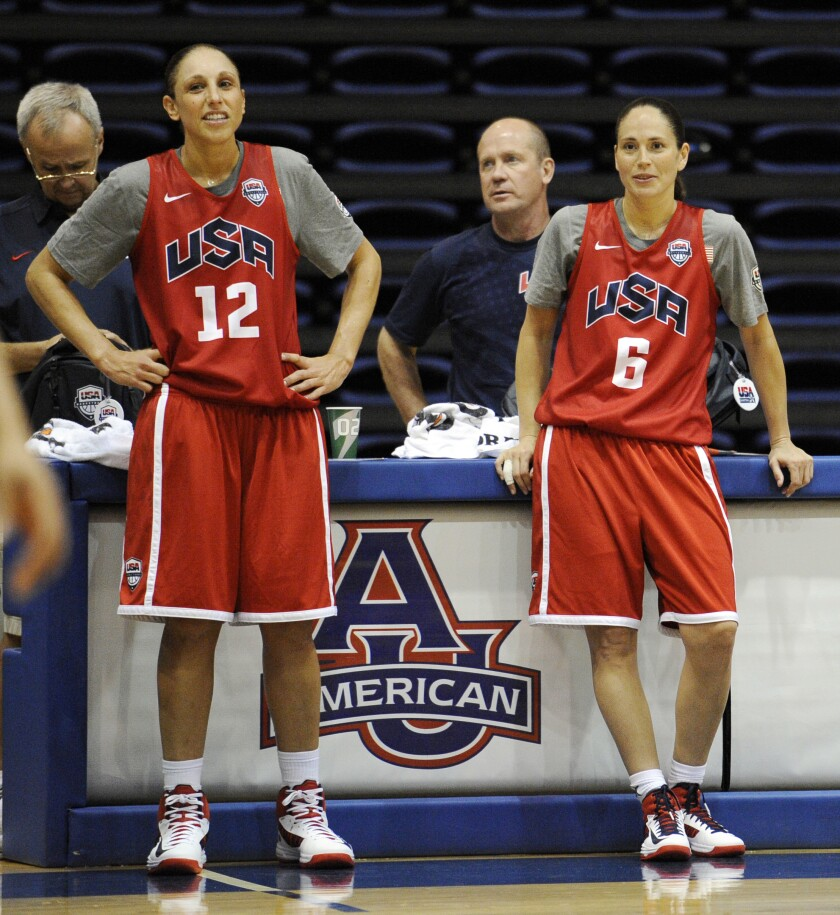USA Basketball NCAA Games