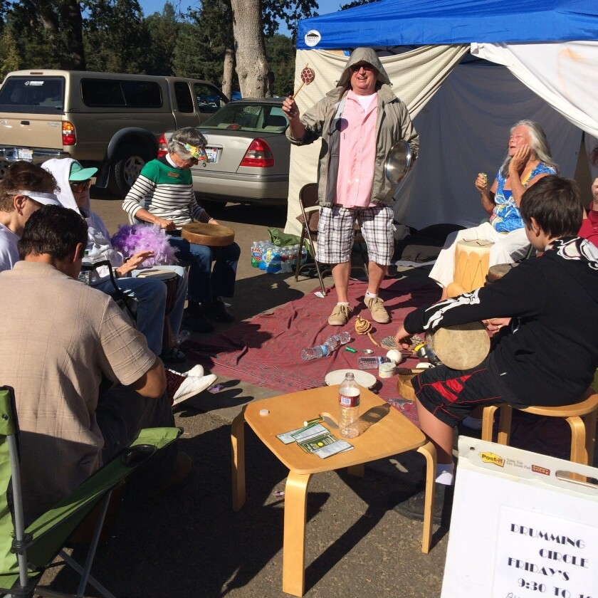 Evacuees from Valley fire in Calistoga