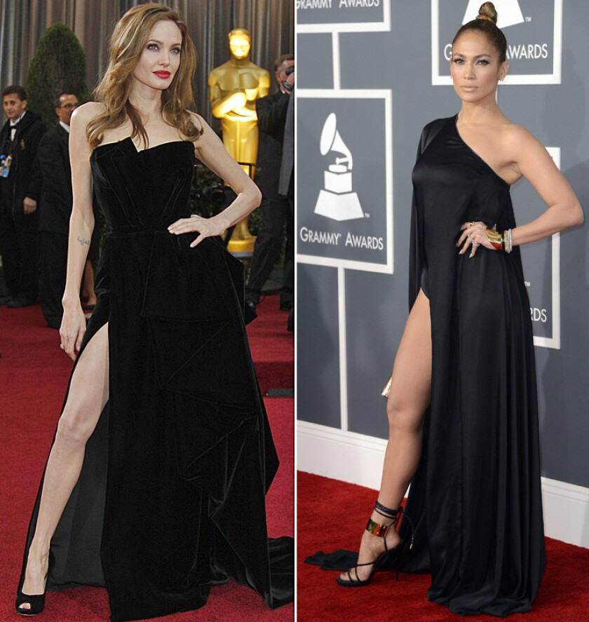 Jennifer Lopez vs. Angelina Jolie: Which leg do you love? [Poll]