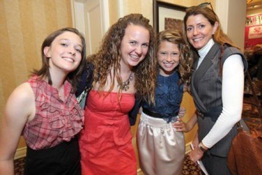 Kari Benirschke, Molly Stead, Georgia Pace, Jennifer Pace. Photos by Jon Clark