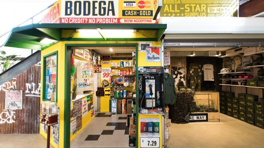 cbff04fc The newly-opened Bodega store in downtown Los Angeles Credit - Bodega