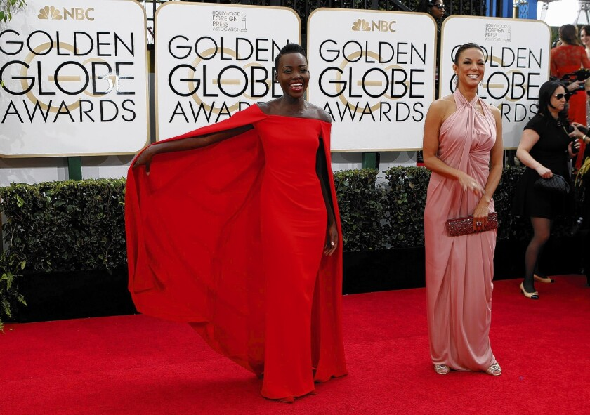 Golden Globes 2014: Drama was in abundance on the red carpet, with stylish stars, well-dressed baby bumps, a Tom Ford controversy and wild cards
