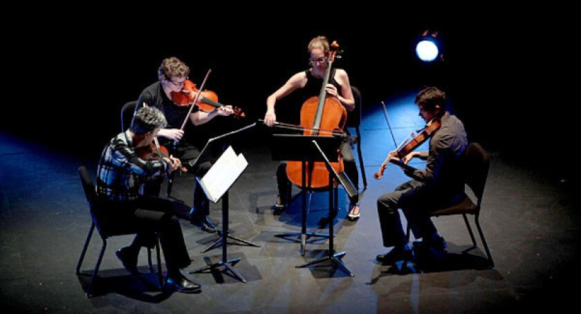 The Formalist Quartet performs as REDCAT hosts a two-day tribute to Christian Wolff, the last surviving member of John Cage's New York School.