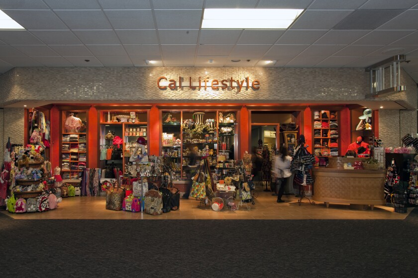 Cal Lifestyle store at San Francisco International Airport