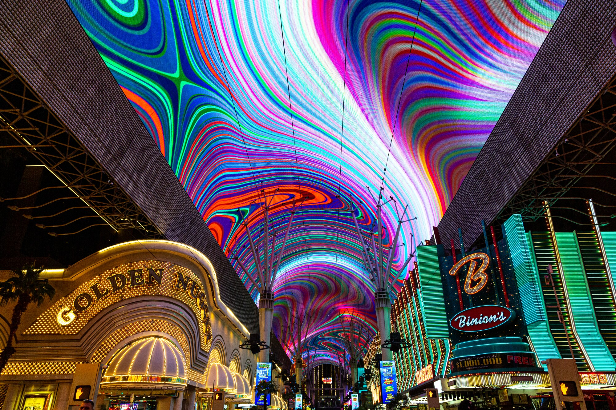 Viva Vision Screen at Fremont Street Experience
