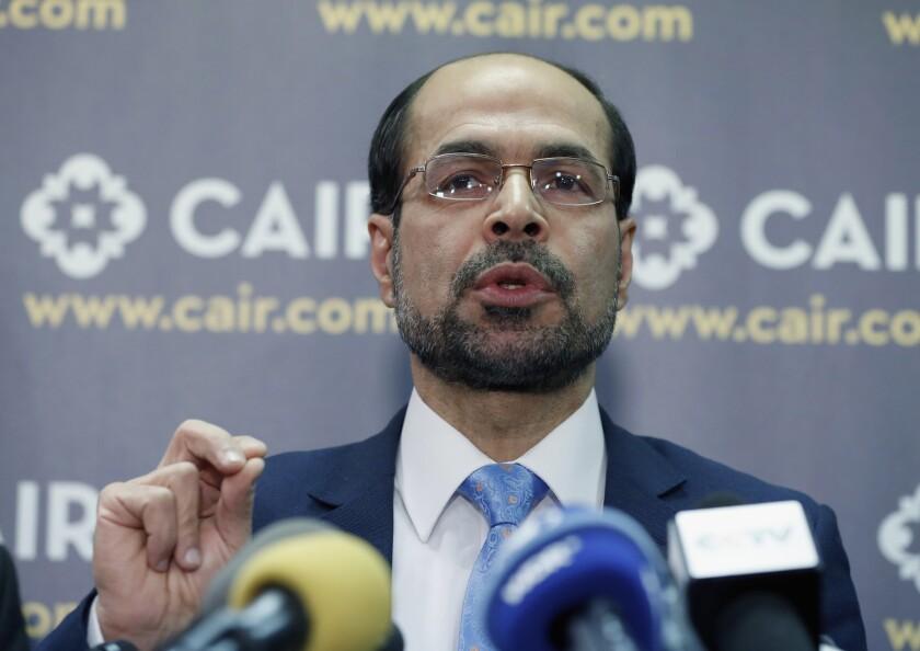 Council on American-Islamic Relations Executive Director Nihad Awad.