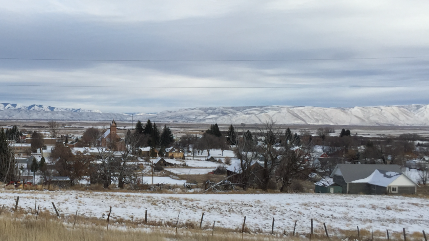 In tiny Paris, Idaho, climate change isn't much of a concern. Residents say they worry more about terrorism and the local economy.