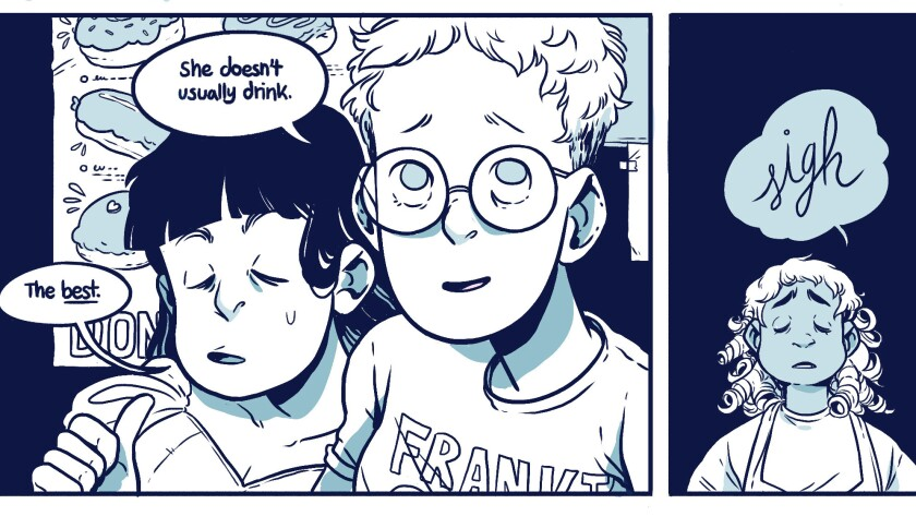 """""""Laura Dean Keeps Breaking Up With Me"""" is an upcoming graphic novel by Mariko Tamaki and Rosemary Valero-O'Connell."""