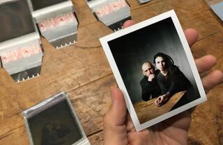 L.A. Times photo studio at Sundance