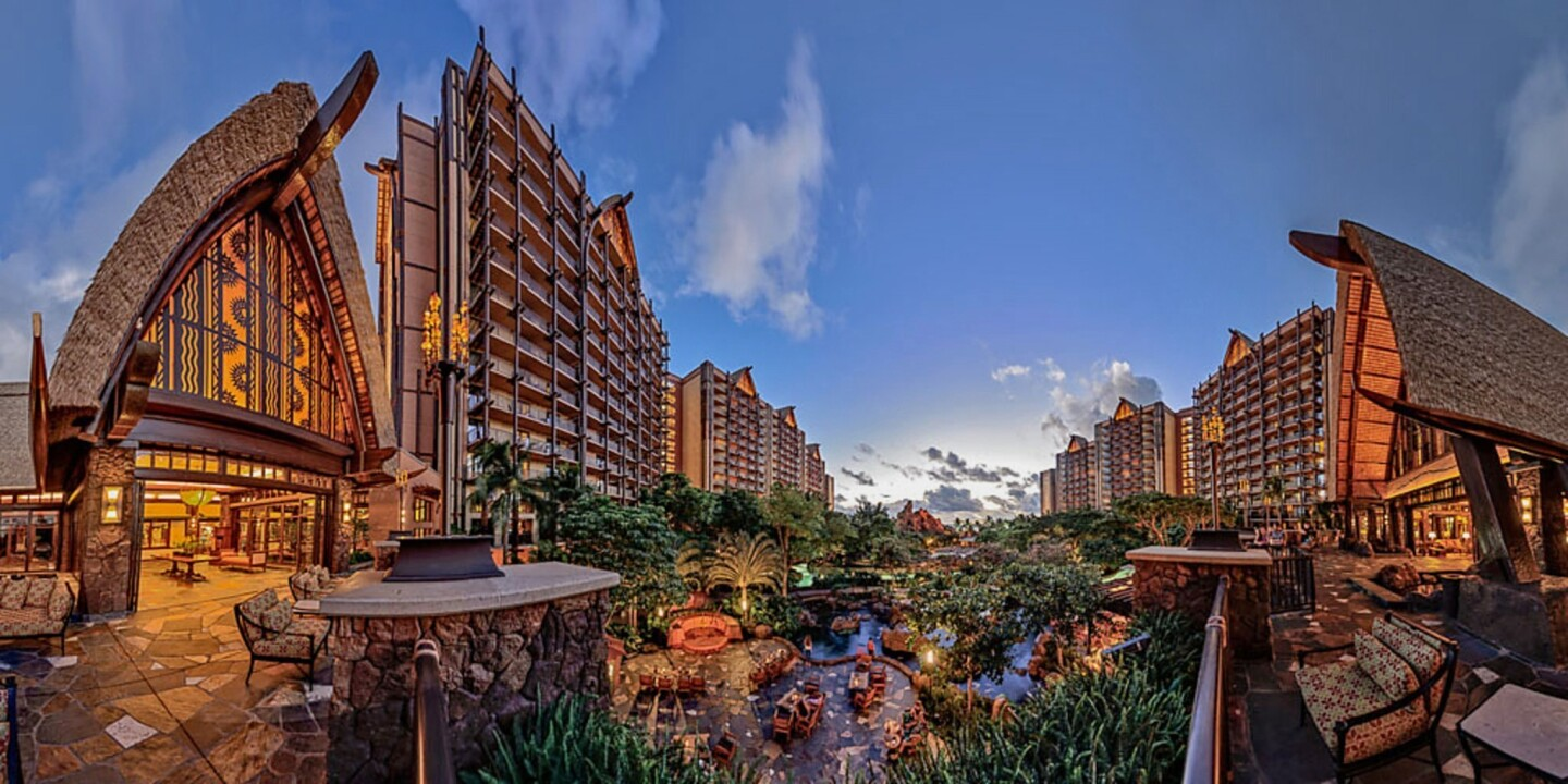 Aulani is a Disney-owned resort and spa located in Ko Olina—a resort district on Oahu. [For the record: A previous version of this caption said that Aulani is on Maui. It is on Oahu.]