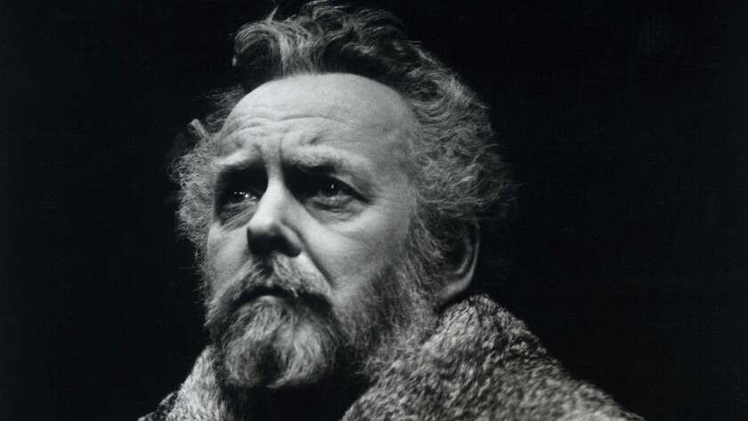 """Douglas Rain stars in a 1979 production of """"Henry IV"""" in Ontario, Canada."""