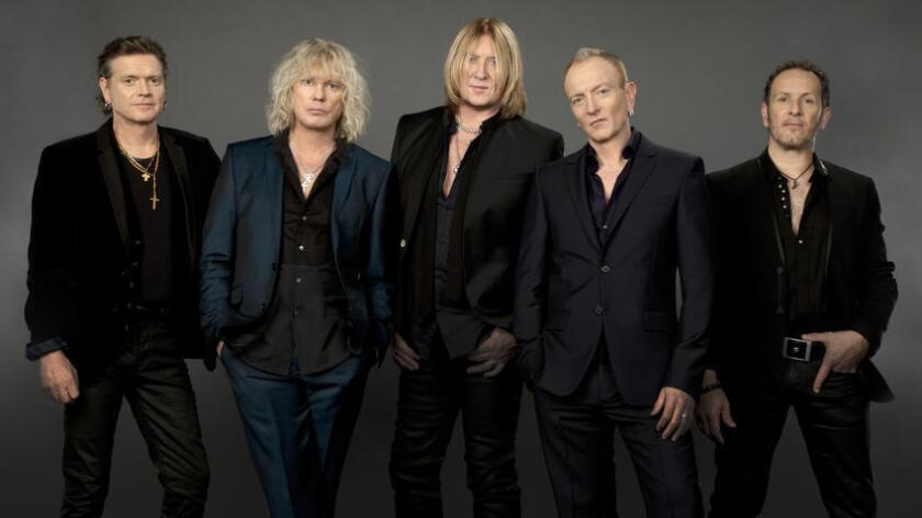 Def Leppard will perform June 16 at Sleep Train Amphitheatre for their 2017 tour with Poison and Tesla. (Maryanne Bilham)