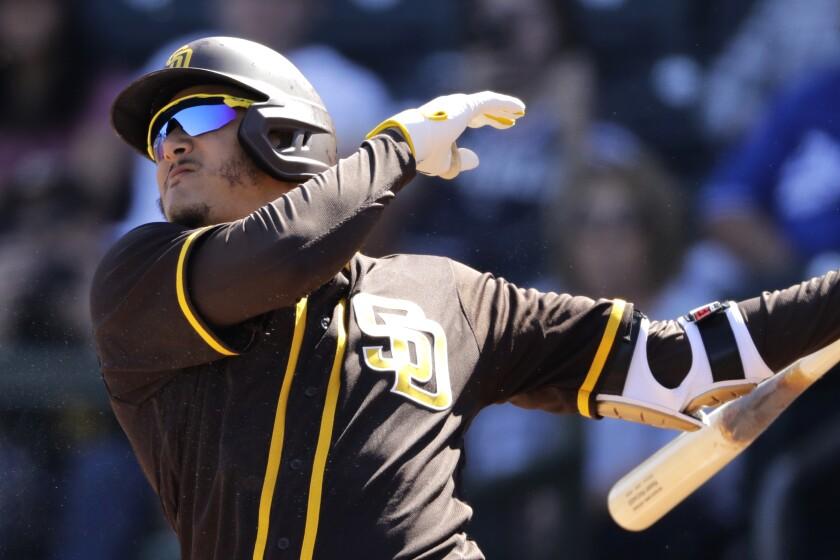 APphoto_Padres Royals Spring Baseball