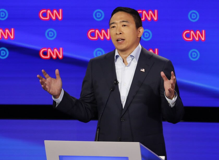 Andrew Yang joins CNN as a political commentator, and he'll be on air for the Nevada debate