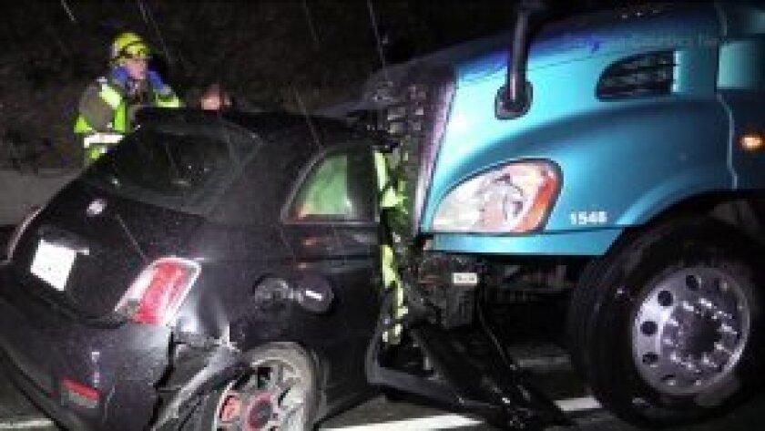 San Diego boy, 17, killed in 405 Freeway crash in Costa Mesa