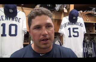 Padres OF Hunter Renfroe on embracing a bench role and spot starts