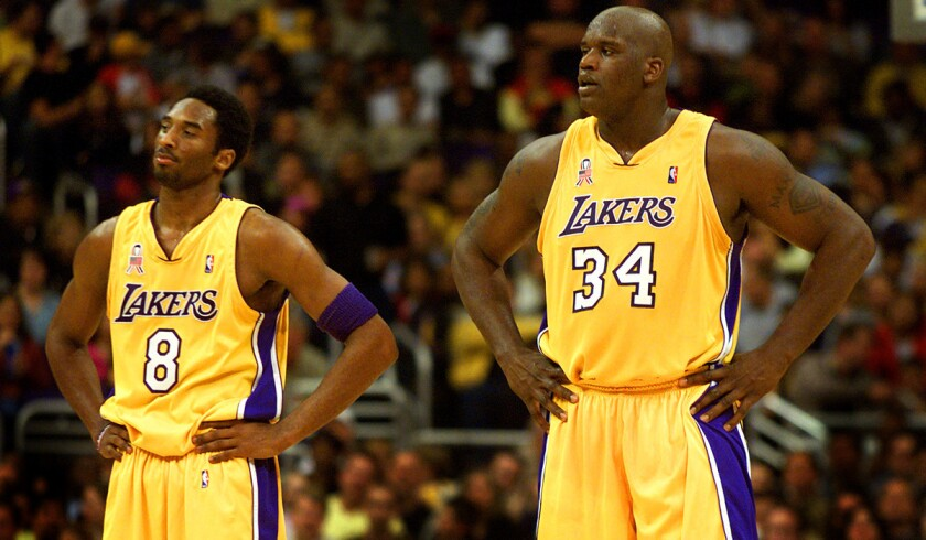buy online e0bb8 74c5c Mitch Kupchak says Lakers may retire both '8' and '24
