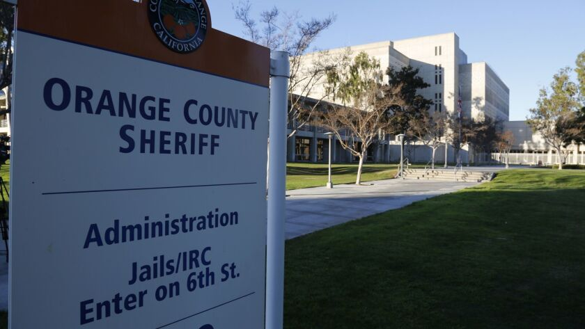 The Orange County Sheriff's Department