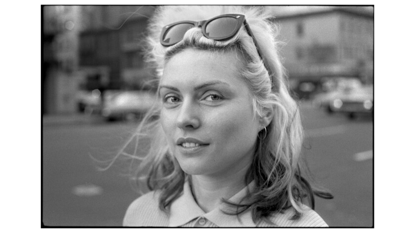 Debbie Harry in 1977. She and her band Blondie were punks before they became pop stars.