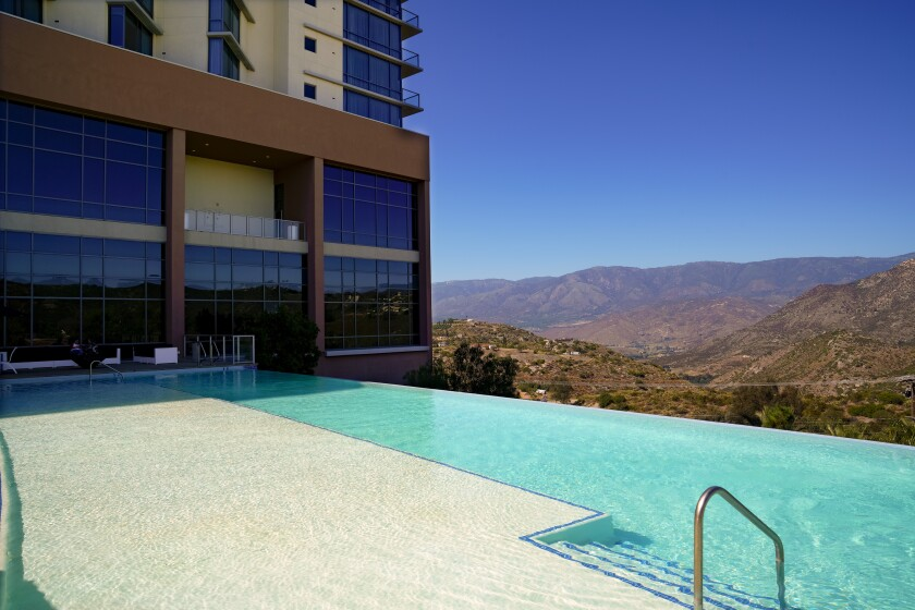 Valley View Casino & Hotel has the only casino infinity pool in San Diego.