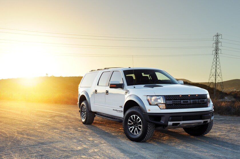 Born an F-150, this Ford pickup has been given the Hennessey aftermarket treatment.