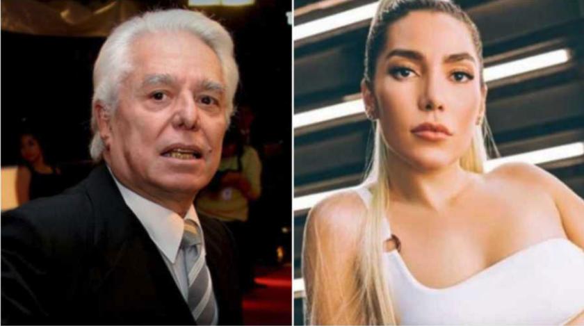 Enrique Guzmán y Frida Sofía. FOTOS: ARCHIVO AFP