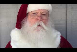 What Santa Claus is voting for on election day
