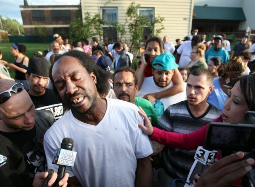 McDonald's says it wants to get in touch with Charles Ramsey, who was eating the company's food at the time he helped rescue three women in Cleveland on Monday.