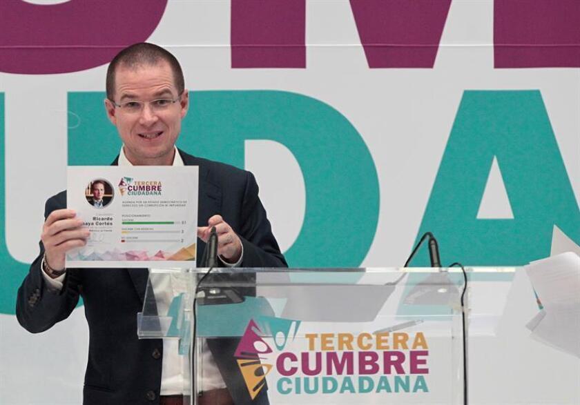 El candidato conservador a la presidencia de México, Ricardo Anaya. EFE/Archivo