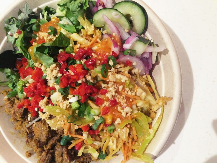 Checking Out Kaya Street Kitchen The Asian Chipotle Los