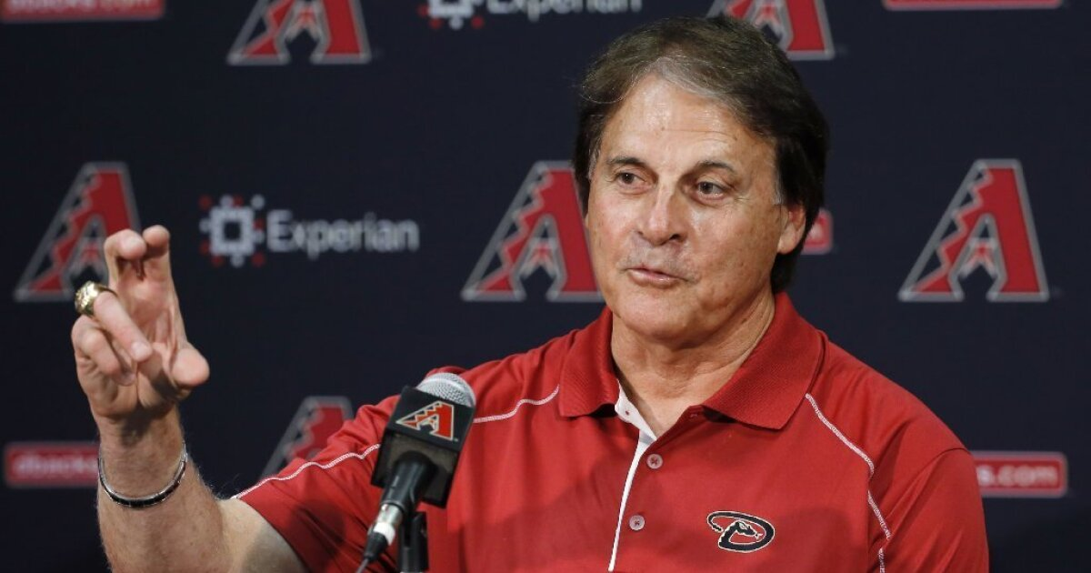 White Sox hire Angels executive Tony La Russa, 76, as manager