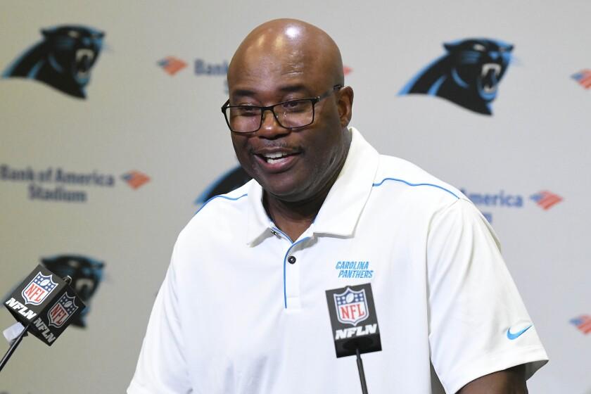 Panthers Rivera Fired Football