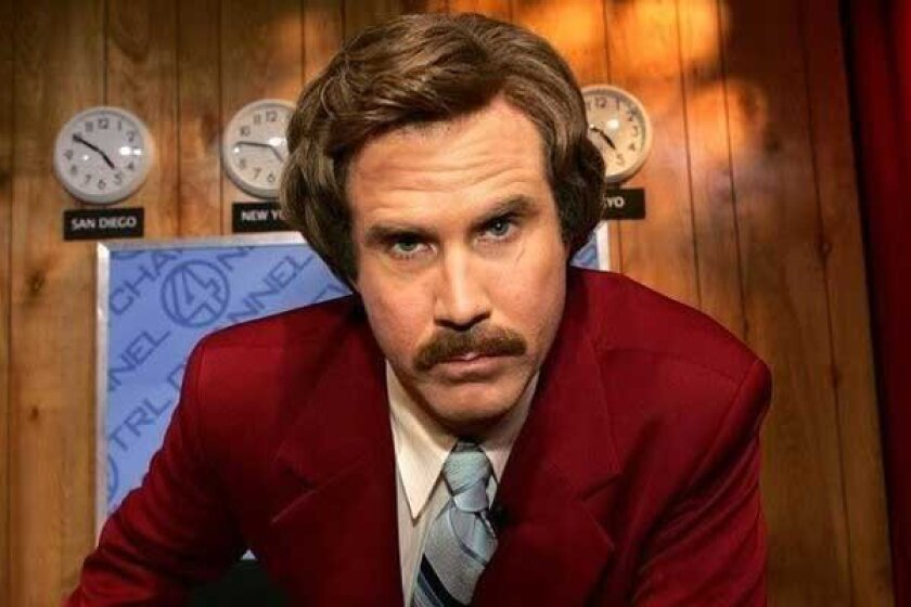 Is Ron Burgundy the best author you've never read?