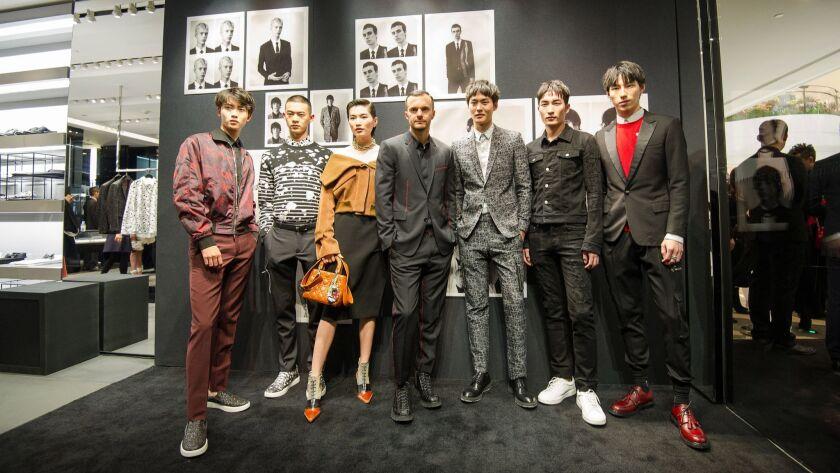 Dior Homme event in Beijing