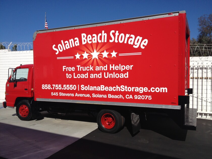 5 Star Storage has two area locations: Solana Beach Storage, 545 Stevens Ave., Solana Beach, (858) 755-5550. Morena Storage, 908 Sherman St., San Diego, (619) 299-4444. Visit www.5starstorage.com and the self-storage facilities are currently offering a special deal of 50 percent off one month or 50 percent off two months, depending on the storage-room size.