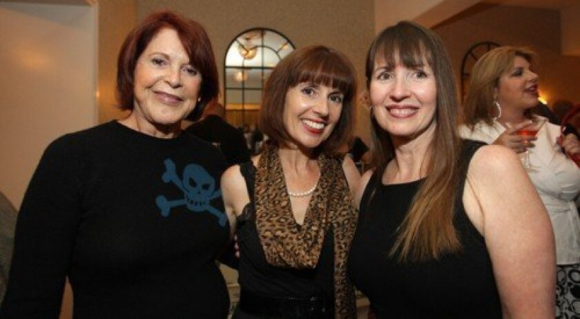 Jenny Craig, Diane Welch, Terrie Litwin (Photo: Nick Morris)
