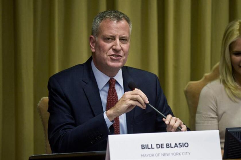 El alcalde de Nueva York, Bill de Blasio, designó hoy a David Hansell para dirigir la Administración de Servicios a Niños, una agencia que está en el ojo del huracán por la muerte de varios menores presuntamente víctimas de abusos. EFE/ARCHIVO