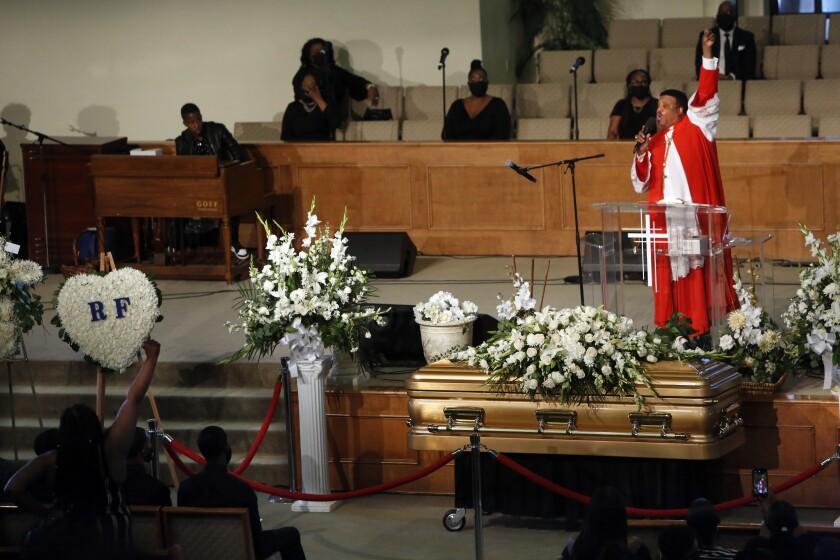 Robert Fuller funeral