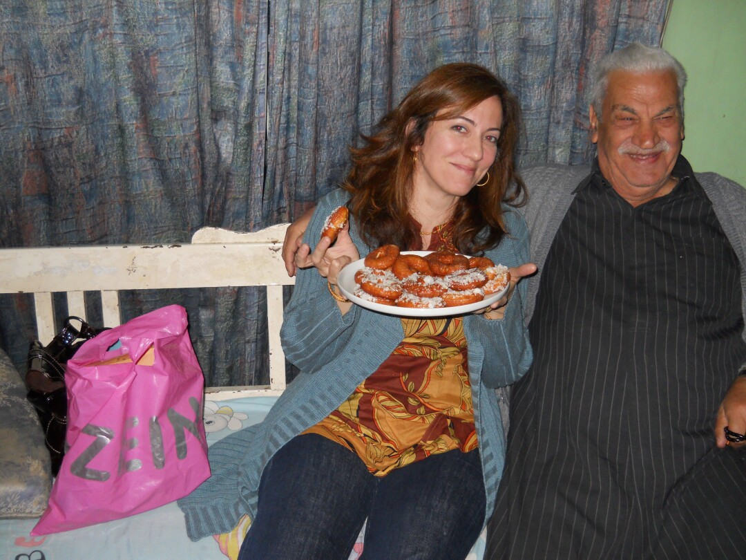 Nov 2011, Baghdad, Iraq, author Lorraine Ali's inside home of Uncle Khairy, age 79.