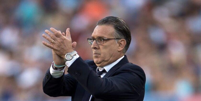Gerardo 'Tata' Martino, nuevo entrenador de la selección mexicana de futbol.