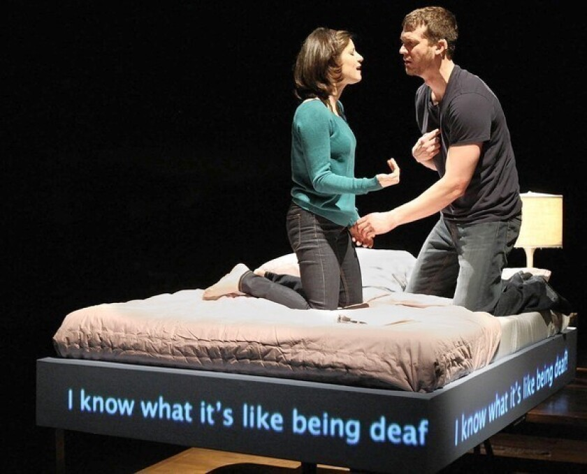 For 'Tribes,' a bit of understudy musical chairs
