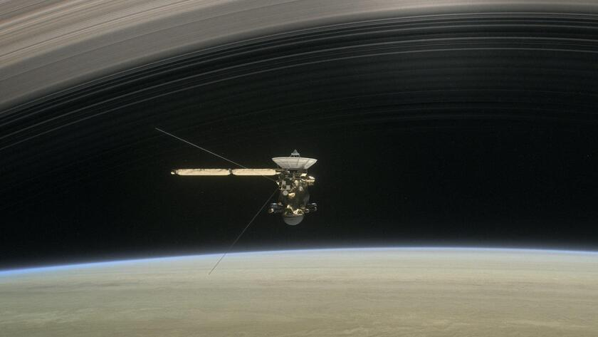 Cassini flew into Saturn's atmosphere early Friday morning, burning up upon entry and becoming a part of the planet it studied for 13 years.
